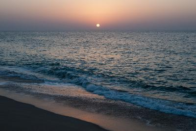 Sunset in Ras Al Hadd, Oman, and the Junction of the Gulf of Oman and Arabian Sea-Sergio Pitamitz-Photographic Print