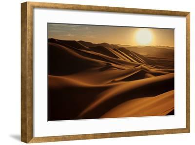 Sunset In Sahara Desert Photographic Print Anna Gibiskys Art Com
