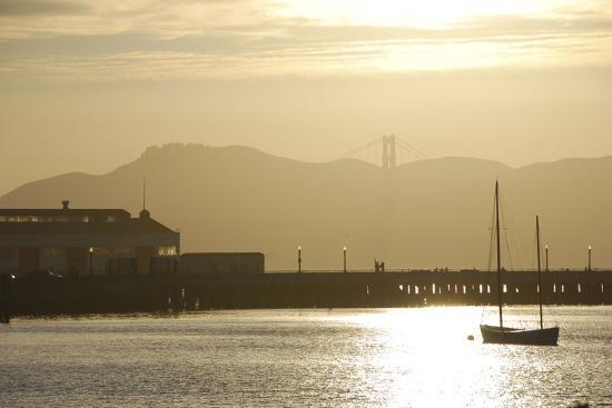 Sunset in San Francisco Bay, California-Anna Miller-Photographic Print