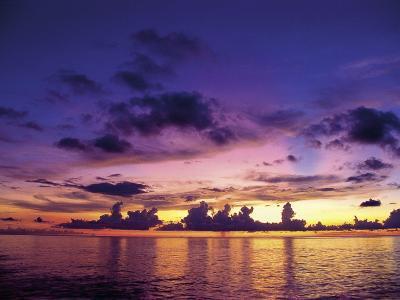 Sunset in the Cayman Islands-Anne Flinn Powell-Photographic Print
