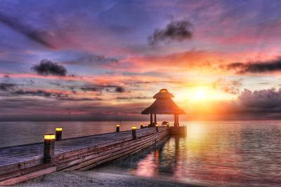 Sunset in the Paradise-Fyle-Photographic Print