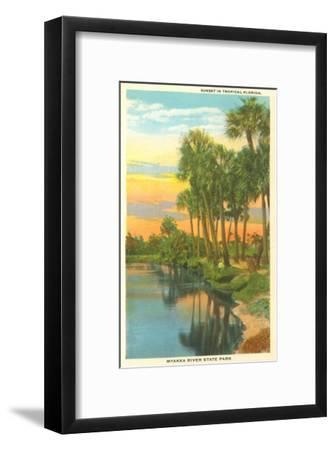Sunset in Tropical Florida, Myakka River State Park