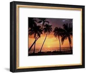 Sunset, Kohala Coast, Island of Hawaii, Hawaiian Islands, USA