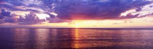 Sunset, Lake Superior, USA