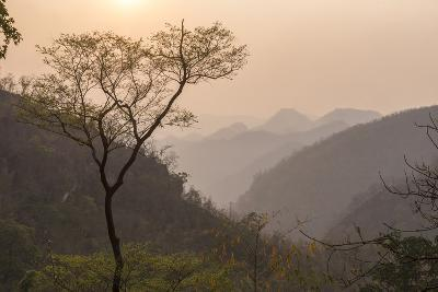 Sunset Landscape Near Pyin Oo Lwin (Pyin U Lwin), Mandalay Region, Myanmar (Burma), Asia-Matthew Williams-Ellis-Photographic Print