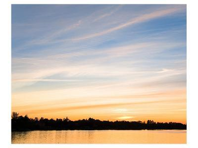 Sunset Last Rays--Art Print