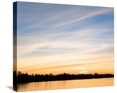Sunset Last Rays--Stretched Canvas Print