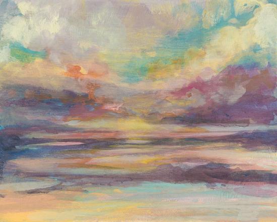 Sunset Light II-Jennifer Goldberger-Art Print