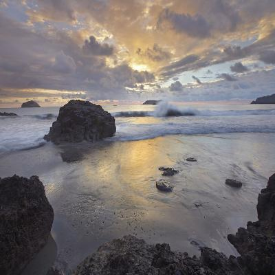 Sunset Light on the Clouds over the Ocean, Manuel Antonio National Park, Costa Rica-Tim Fitzharris-Photographic Print
