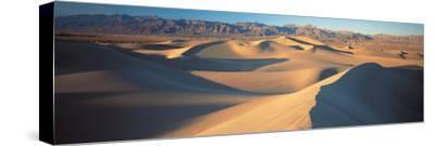 Sunset Mesquite Flat Dunes Death Valley National Park Ca USA
