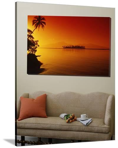 Sunset, Moorea, French Polynesia-Douglas Peebles-Loft Art