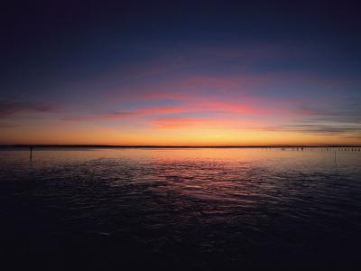 Sunset Near North Carolinas Outer Banks-Steve Winter-Photographic Print