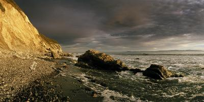 Sunset on Arroyo Burro Beach after a Storm-Macduff Everton-Photographic Print