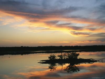 Sunset on Floridas Gulf Coast--Photographic Print