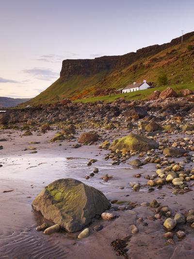 Sunset on Loch Na Keal, Isle of Mull, Inner Hebrides, Scotland, United Kingdom, Europe-Patrick Dieudonne-Photographic Print