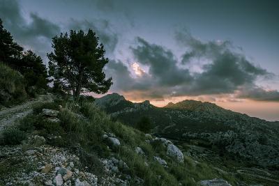 Sunset on Majorca, Serra De Tramuntana-Jorg Simanowski-Photographic Print