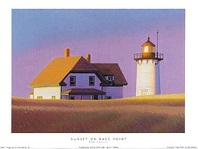 Sunset On Race Point-Rob Brooks-Art Print