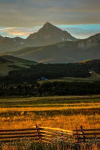 Sunset on San Juan Mountains, Colorado, USA on San Juan Mountains, Colorado, USA