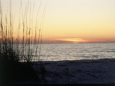 Sunset on Sanibel Island, Gulf Coast of FL-David Davis-Photographic Print