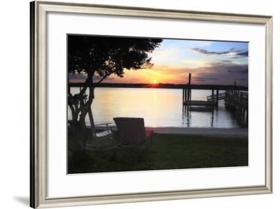 Sunset on Shinn Creek I-Alan Hausenflock-Framed Photographic Print