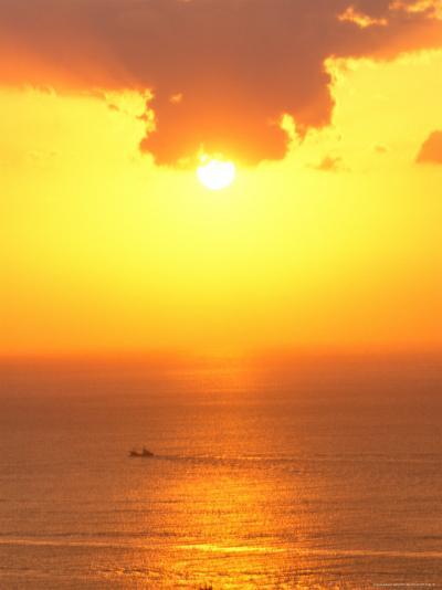 Sunset on Shizuoka, Japan-Rob Tilley-Photographic Print