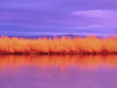 Sunset on Summer Lake-Robert Marien-Photographic Print