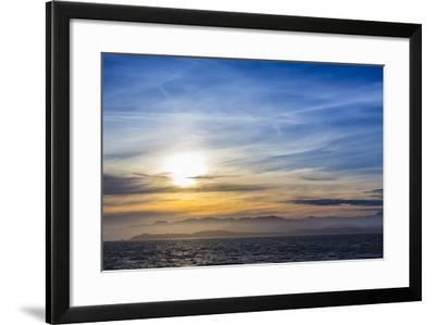 Sunset on the Coastline of Kaikoura, South Island, New Zealand, Pacific-Michael Nolan-Framed Photographic Print