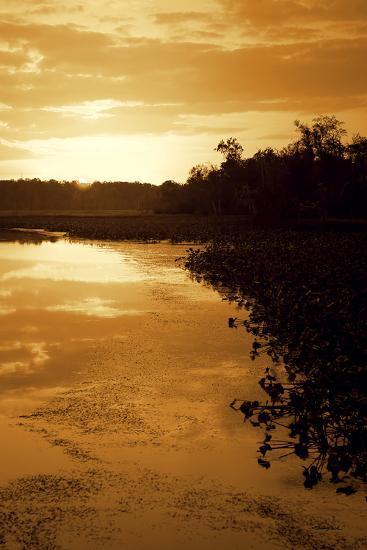 Sunset on the Lake II-Alan Hausenflock-Photographic Print