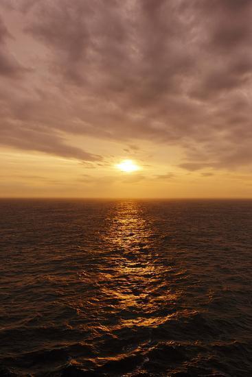 Sunset on the Open Seas-Axel Schmies-Photographic Print