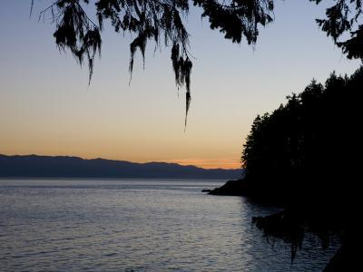 Sunset on the Pacific Coast of Vancouver Island, Sooke, British Columbia, Vancouver Island, Canada-Taylor S^ Kennedy-Photographic Print