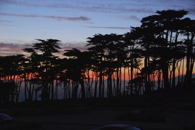Sunset on the Pacific Coast, San Francisco, California-Anna Miller-Photographic Print