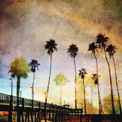 Sunset on the Pier A-GI ArtLab-Premium Giclee Print