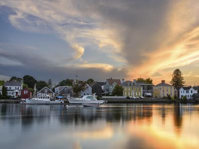 Sunset on the Piscataqua-Michael Blanchette Photography-Photographic Print