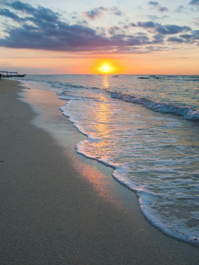 Sunset on the Tropical Island of Gili Trawangan, Gili Islands, Indonesia, Southeast Asia, Asia-Matthew Williams-Ellis-Photographic Print