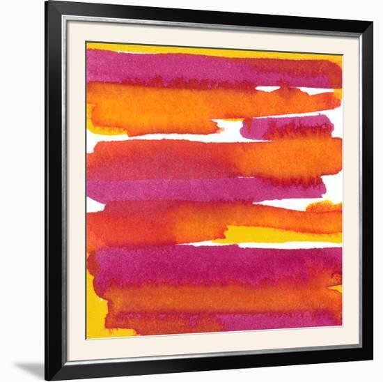 Sunset on Water I-Renee W^ Stramel-Framed Photographic Print