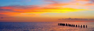 Sunset or Sunrise Landscape Panorama of Beautiful Nature Beach-Fotomak-Photographic Print