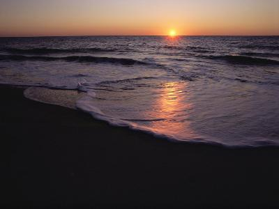 Sunset over Chincoteague, Virginia-Medford Taylor-Photographic Print