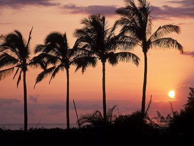 Sunset Over Kihei, Maui, Hawaii-Chris Rogers-Photographic Print