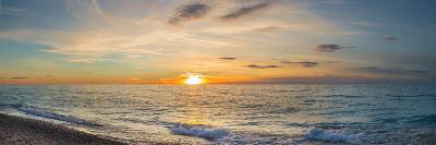 Sunset over Lake Michigan, Benzie County, Frankfort, Michigan, USA--Photographic Print