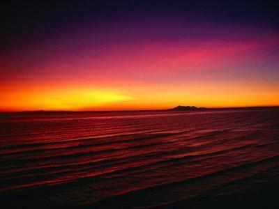 free shipping ded59 6150d Sunset Over Mar De Cortes, Sea of Cortez, Mexico Photographic Print by  Peter Ptschelinzew   Art.com