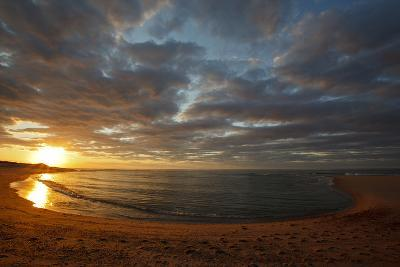 Sunset over Meadow Beach, Cape Cod National Seashore, Massachusetts-Jerry & Marcy Monkman-Photographic Print