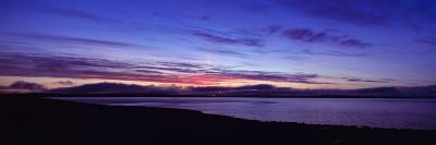 Sunset over Scapa Flow Overlooking the Oil Terminal at Flotta, Orkney Islands, Scotland--Photographic Print