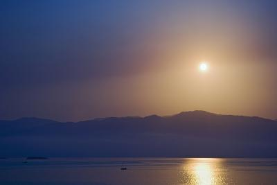 Sunset over Some of the Ionian Islands-Design Pics Inc-Photographic Print