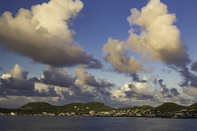 Sunset Over, St. Kitts, West Indies-Brian Jannsen-Photographic Print
