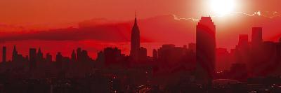 Sunset Over the City-Jakob Dahlin-Giclee Print