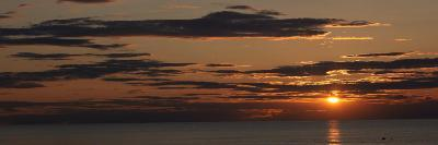 Sunset over the Ocean, Jetties Beach, Nantucket, Massachusetts, USA--Photographic Print