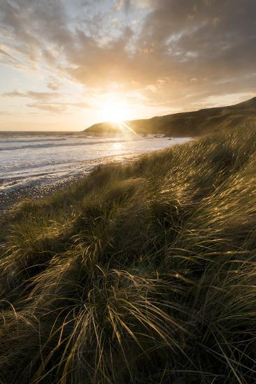 Sunset over the Pembrokeshire Coast National Park, Wales, United Kingdom, Europe-Ben Pipe-Photographic Print