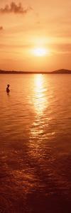 Sunset over the Sea at Dusk, Ko Samui, Thailand