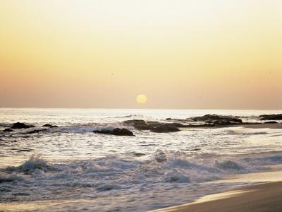Sunset over the Sea--Photographic Print