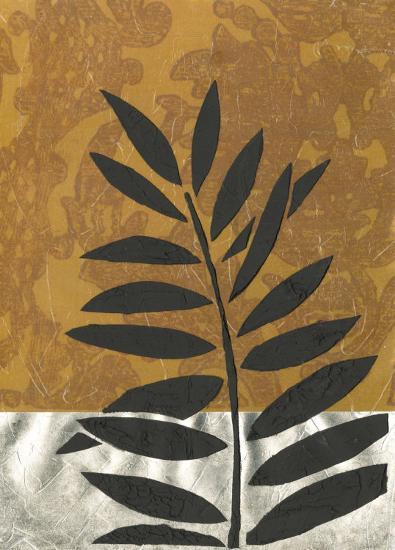 Sunset Palm II--Art Print